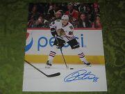 Patrick Kane Autographed Auto 11x14 Photo Chicago Blackhawks Stanley Cup 16and039 Mvp