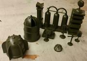 Marx Toys Pl-1516odn Cape Canaveral Accessories Olive Drab 54mm Plastic Toys
