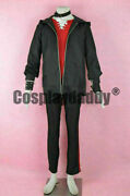 Mystic Messenger Unknown Saeran Choi Ray Outfit Game Cosplay Costume @