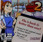 Cd Rom Diner Dash 2 Restaurant Rescue Software Flo Is Back Rated E