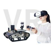Wifi Video Rc Car With 3d Ccd Camera Vr Video Tank Car Robot W/ Controller Dl45