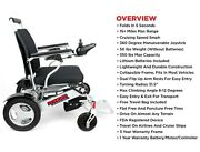 2020 New Lightweight Foldable Premium Electric Wheelchair Airplane Cruise Ready
