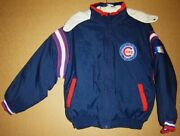Chicago Cubs Reversible Jacket + 2 Free Caps Package