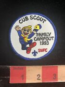 Happy Cub Scout In Red Shoes Family Campout 1993 Boy Scouts Patch S98y