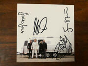The Alarm Cd Sigma Signed Card Autographed By Mike Peters And Current Band