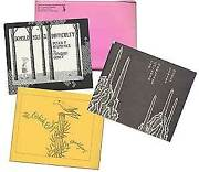 Edward Gorey / Three Books From The Fantod Press 2 The Chinese Obelisks 1st Ed