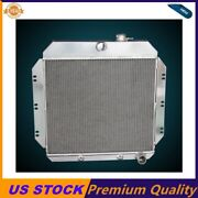 3 Rows Aluminum Radiator Fit 1960 1961 1962 Chevy C10/ 20/ 30 Truck Pickup