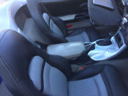 1997-2004 C5 Corvette Leather Replacement Seat Covers Black And Light Grey