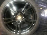 Black Oem Factory Porsche Panamera 20 Forged Turbo Ii 2 Wheels Rims And Tires