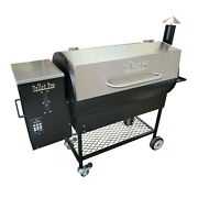 The Pellet Pro Deluxe 1190 Pellet Smoker/grill- Free Cover And New Ash Clean-out