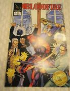 Collectibles Lot 2 Lighting Comics Books Bloodfire 1993 Sep 4 And Dec 7