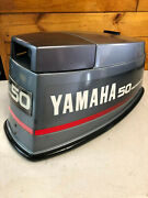 1993 Yamaha 40 50 Hp 2 Stroke Outboard Motor Top Cowl Cover Hood Freshwater Mn