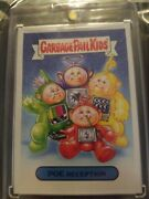 2019 Gpk We Hate The 90's 1/1 Blank Back.poe Reception Teletubbies Spoof Os1 Psa