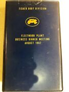 Fisher Body Division 1967 Fleetwood Plant Biz Dinner Playing Cards/score Sheets