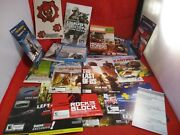 Large Lot Xbox 360 Ps4 Ps3 Game Inserts Gears Of War Destiny Farcry God Of War