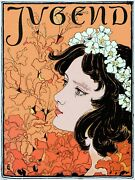 Decoration Poster.wall Art.home Room Design.jugend.youth Mag Cover.flowers.9407