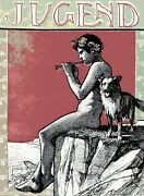 Decoration Poster.wall Art.home Room Design.jugend.youth Mag Cover.pan Dog.9408