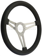 Alfa Romeo Spider Classic 380 Mm Leather 3 Spoke Dished Steering Wheel New