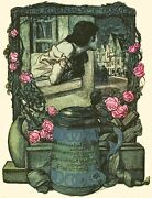 Decoration Poster.wall Art.home Room Design.jugend.youth Cover.pink Roses.9447
