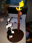 Extremely Rare Looney Tunes Sylvester Trying To Catch Tweety Figurine Statue