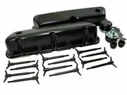 Ford Valve Cover Dress Up Kit Black 62-85 Sbf 289 302 351w 5.0 Small Block New