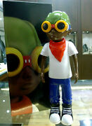 Hebru Brantley Candy Paint Flyboy 2016 Fly Boy Action Figure White Tee Rare New