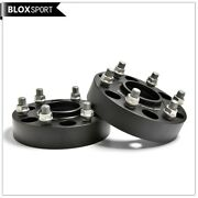 2x35mm 6x5.5 Hubcentric Black Wheel Spacers Fit Ford Ranger Bt50 /6x139.7 Cb93.1