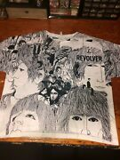 Rare Beatles Revolver All-over Front And Back Print Size 2xl