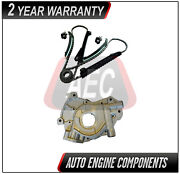 Timing Chain Kit And Oil Pump Fits Ford Excursion Expedition 5.4l Triton