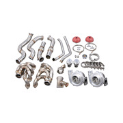 Cxracing Twin Turbo Manifold Downpipe For 67-72 Chevy C10 Truck Bbc Big Block