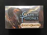 A Game Of Thrones Ccg A Flight Of Dragons Booster Box - Factory Sealed
