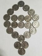 1979 P Susan B Anthony 1 Dollar Coins Circulated Lot Of 23