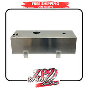 New 14 Gallon Fuel Cell Tank Top-feed Aluminum Slim Gas Tank For 1923 T-bucket