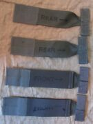 New Us Rlcs Msap Front And Rear Molle Armband Straps. Green. Eagle Industries