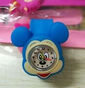 Disney And039s Mickey Mouse Wrist Watch One Size Fits All In Silver Colour Gift Box
