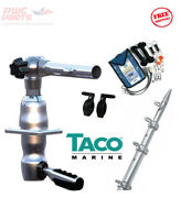 Taco Grand Slam 280 Package W/15and039 Silver/silver Pole Rigging Kit Gs-2842vel-1