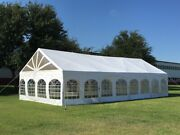 40'x20' Pvc Marquee - Heavy Duty Large Party Wedding Canopy Tent Fire Retardant