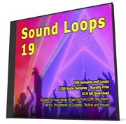 Sound Loops 19 Edm Collection 5200 Wav Loops Sample Packs Fl Studio Logic Pro