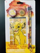 Lion King Activity Set Educational Toy Cute Stationary Kids Theme Party Favor