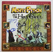 John Cleese Terry Jones +2 Signed Monty Python And The Holy Grail Laserdisc Rad