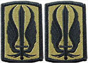 2 Pack U.s. Army 17th Aviation Brigade Ocp Hb Military Patches