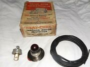 New Wico Vintage Inboard Motor Therm-o-protector Heat Switch And Warning Light