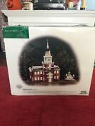 Department 56 Independence Hall Heritage Village Collection Pre Owned.