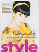 Lily Allen On Fame Fashion Free Handbags And Front Row Sunday Times Style Magazine