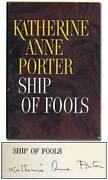 Katherine Anne Porter / Ship Of Fools Signed 1st Edition 1962
