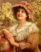 Vernon Country Spring Artist Painting Reproduction Handmade Oil Canvas Repro Art