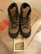 Us Military Danner Combat Hiking Mountain Boots Goretex Brown Leather 43513x