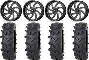 Msa Milled Switch 20 Wheels 36 Outback Maxand039d Tires Polaris Rzr Turbo S / Rs1