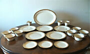 All Mint Lenox Eclipse-dinner And Bread Plates/cups/saucers/platter +