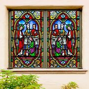 3d Religious Holy Water A201 Window Film Print Sticker Cling Stained Glass Uv Zo